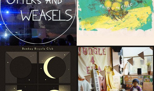 Otters and Weasels January New Music selection
